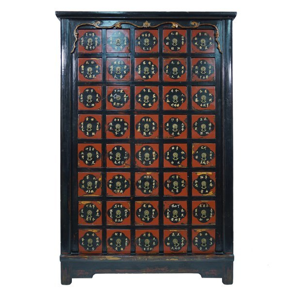 19th Century Chinese Solid Wood Cabinet