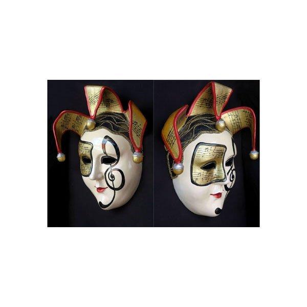 "Large Venetian Mask Wall Plaque 35"""