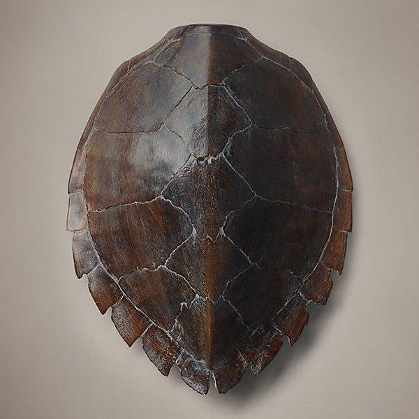 """Faux Tortoise Shell Sculpture 21"""""""