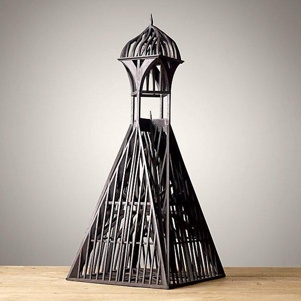 "Model of the European Steeple Sculpture 40"""