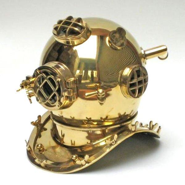 """Mark V Copper Diving Helmet 18"""""""