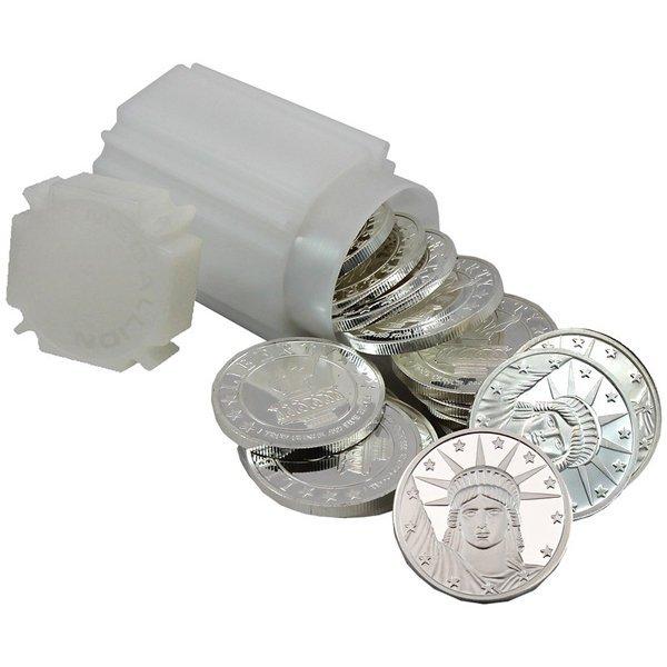 1 Oz Liberty Design .999 Silver Rounds 20pc