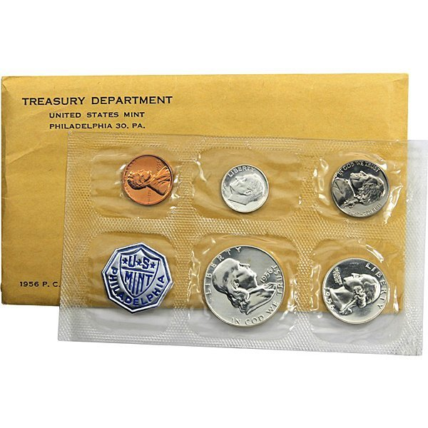 1956 US Mint Proof (90% Silver) Set