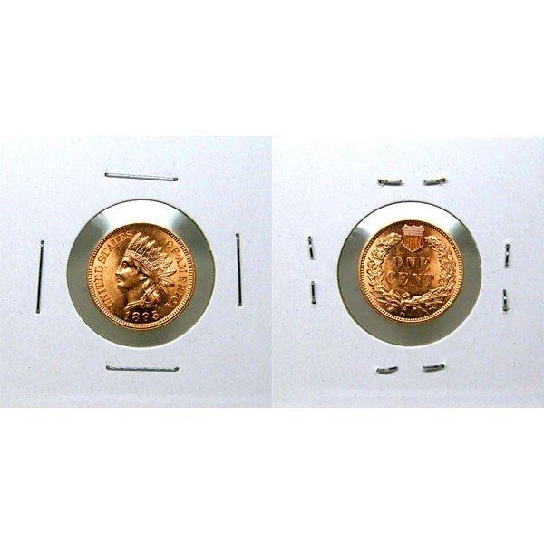 1895 Indian Head Cent - Red Gem BU - MS+++