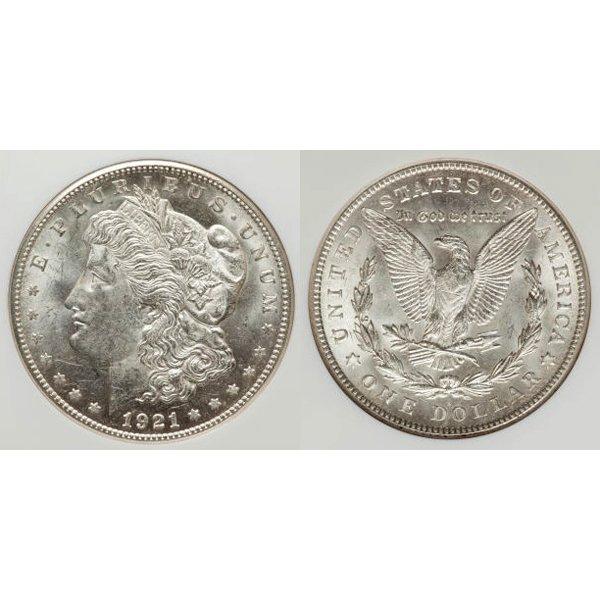 1921 S Morgan Silver Dollar - Brilliant Uncirculated
