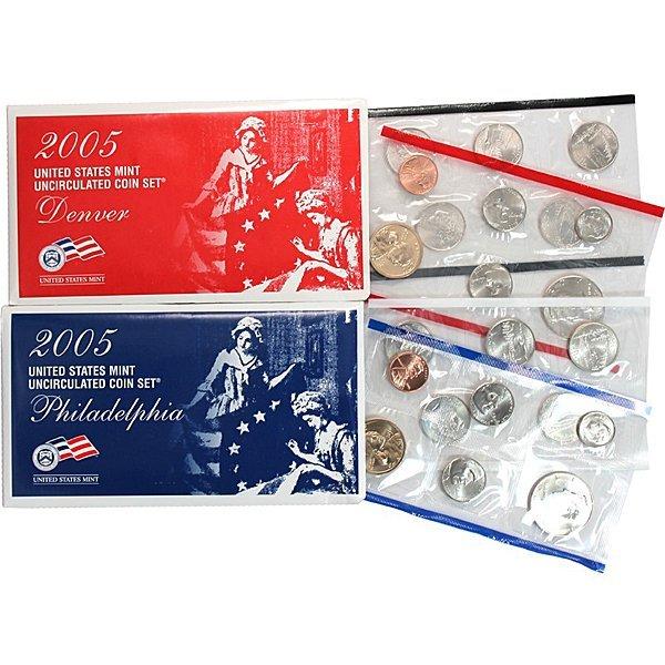 2005 P D Mint Set