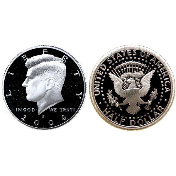 2004 S Kennedy Half Dollar (90% Silver) Proof