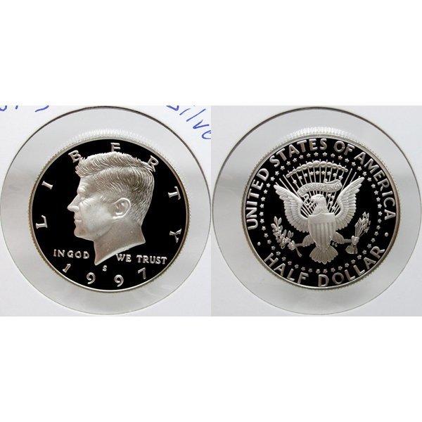 1997 S Kennedy Half Dollar (90% Silver) Proof