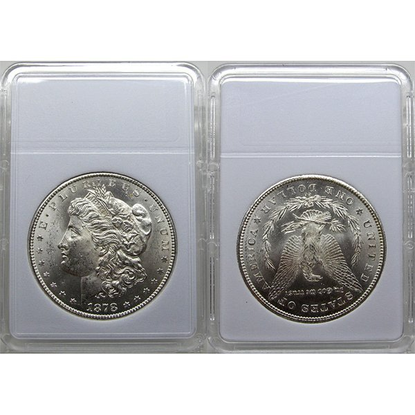 1878 CC Morgan Silver Dollar - Brilliant Uncirculated