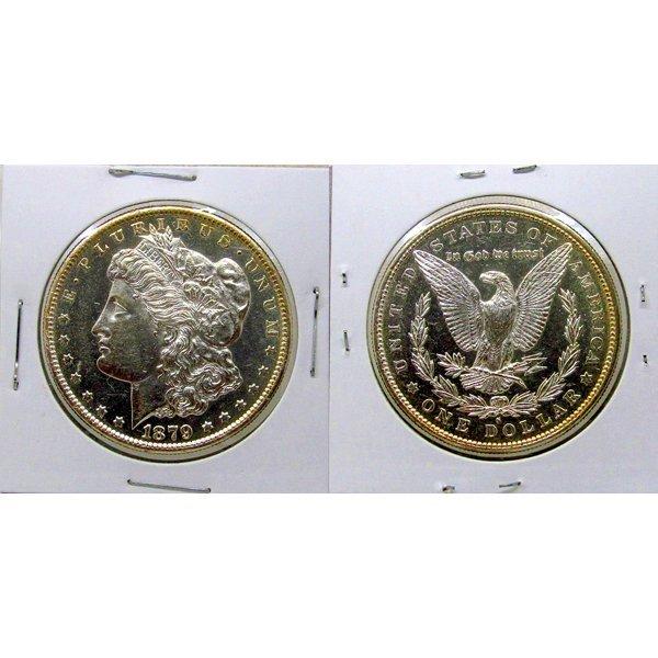 1879 S Morgan Dollar - BU - Proof Like - MS+