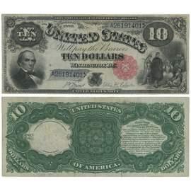 """1880 $10 Legal Tender - """"Jackass"""" - AU"""