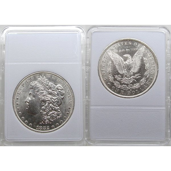 1882 O Morgan Silver Dollar - Brilliant Uncirculated