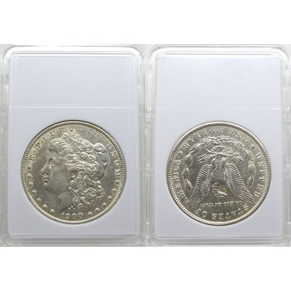 1900 Morgan Silver Dollar - Almost Uncirculated
