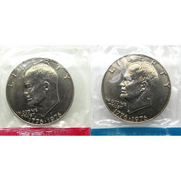 1976 P D Eisenhower Dollar Set Type 1 - Mint Sealed