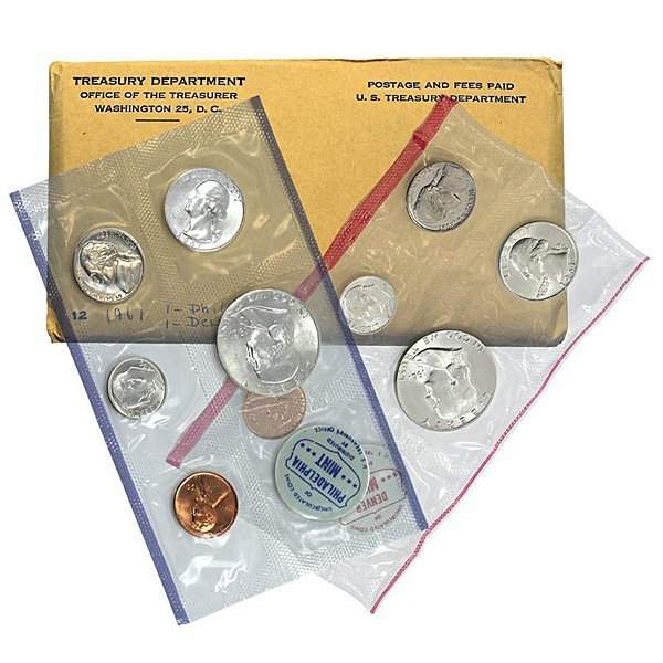 1961 Mint Set (90% Silver)