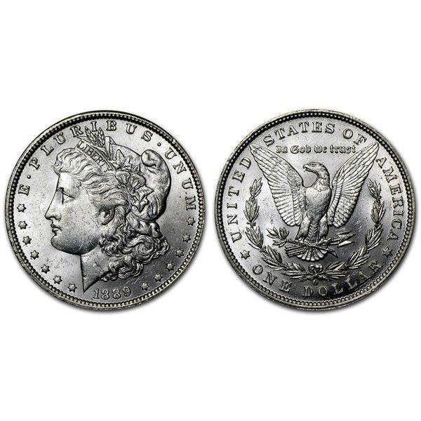 1889 O Morgan Silver Dollar - Brilliant Uncirculated