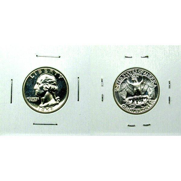1959 Washington Quarter (90% Silver) Gem Proof