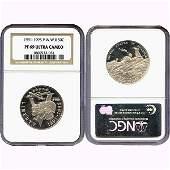 1991-1995-P World War II Half Dollar PF69 NGC