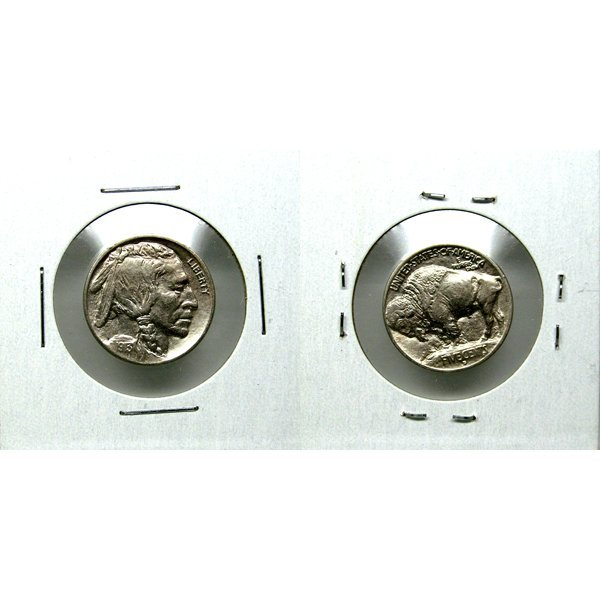 1913 D Buffalo Nickel Type 1 - Almost Uncirculated