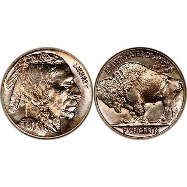 1916 Buffalo Nickel - Proof