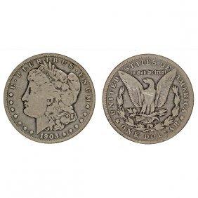 1903 S Morgan Silver Dollar - Vg