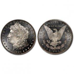 1879 S Morgan Dollar - Ms63+ - Proof Like