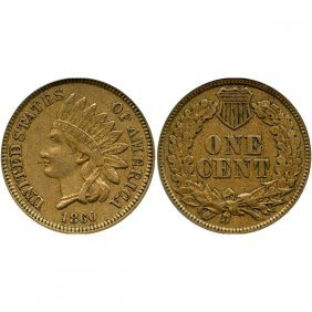 1860 Indian Head Cent - Xf
