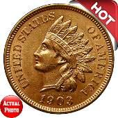 1903 Indian Head Cent - BU