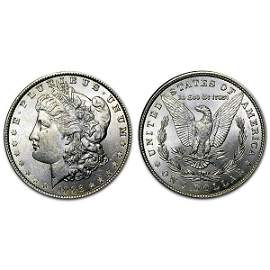 1886 Morgan Silver Dollar - BU