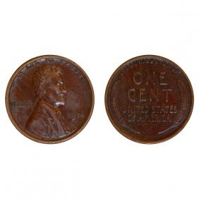 1914 P Lincoln Wheat Cent - Au
