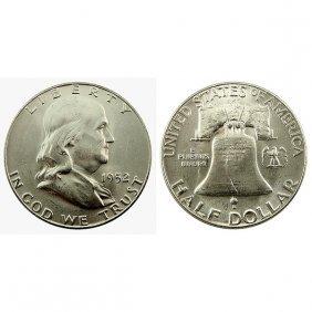 1952 Franklin Half Dollar - Bu