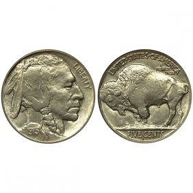1915 D Buffalo Nickel - Choice Bu