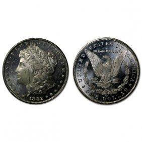 1882 Cc Morgan Dollar - Ms63+ - Proof Like