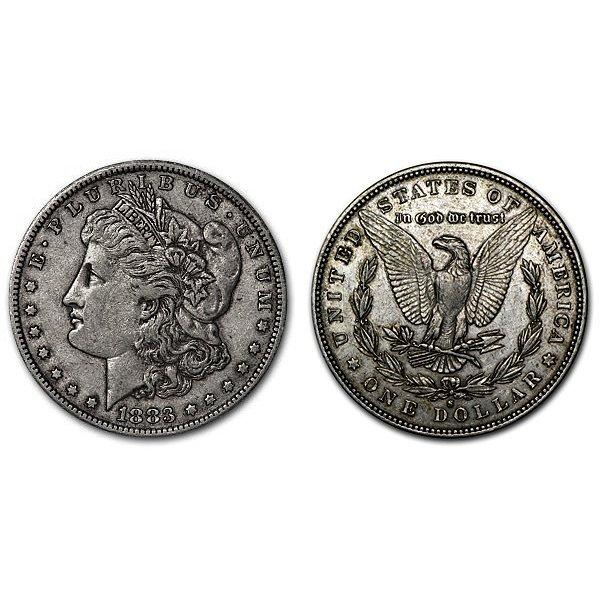 1883 S Morgan Silver Dollar - XF