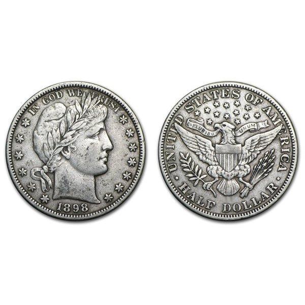 1898 Barber Half Dollar - XF
