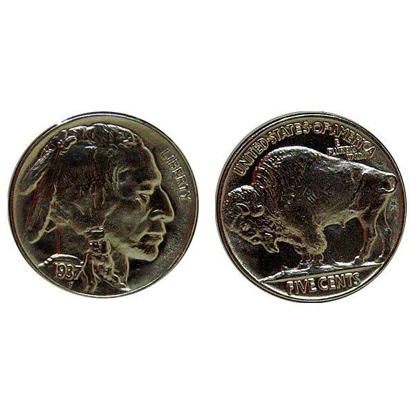 1937 Buffalo Nickel - Proof