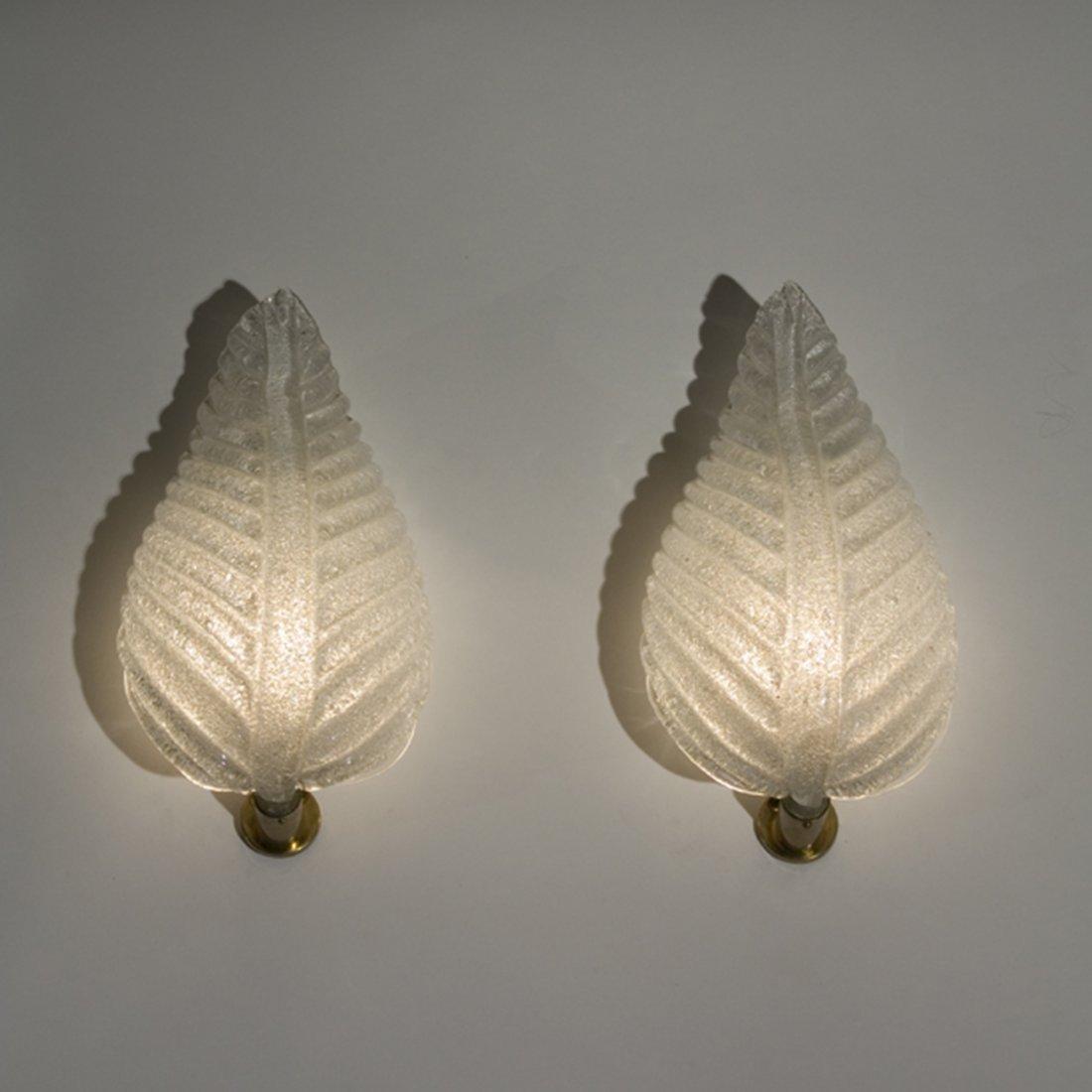 Rugiodoso Sconces by Barovier, Pair