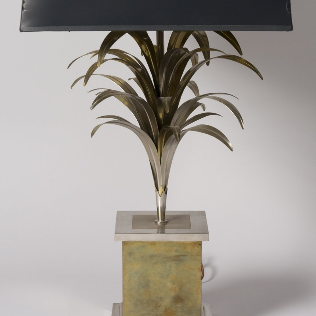 Brass Palm Form Table Lamp - 3
