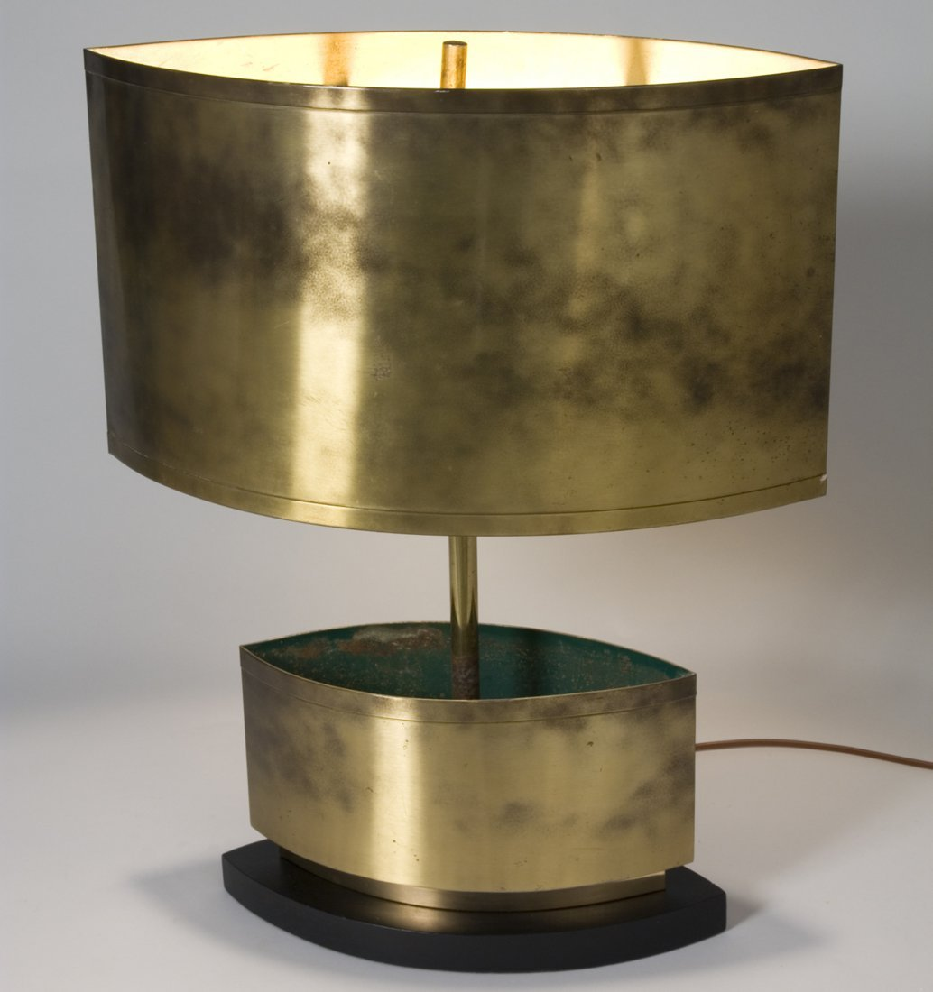 Crescent Lamp by C. Jere