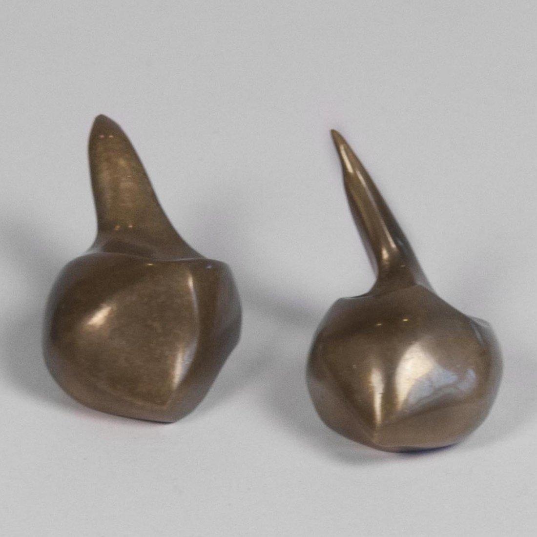 Solid Bronze Sculptures by M. Jaubert