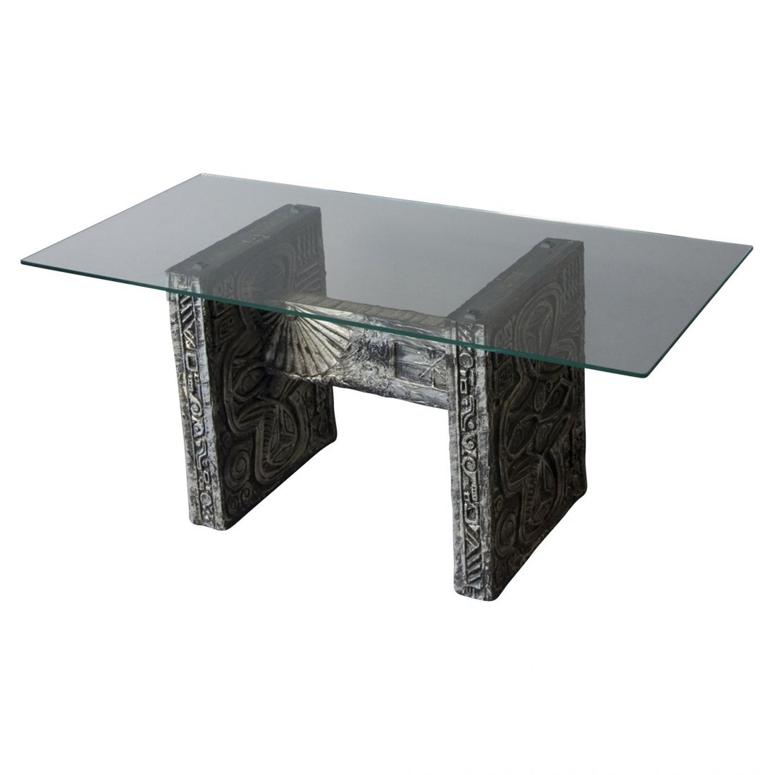 Cast Resin Coffee Table