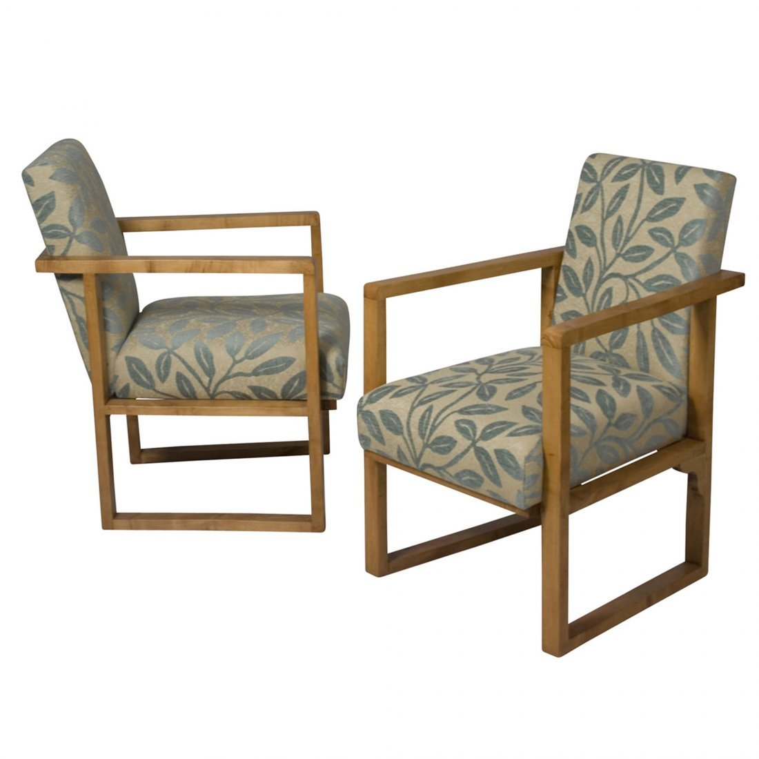 1930s Modernist Armchairs, Pair