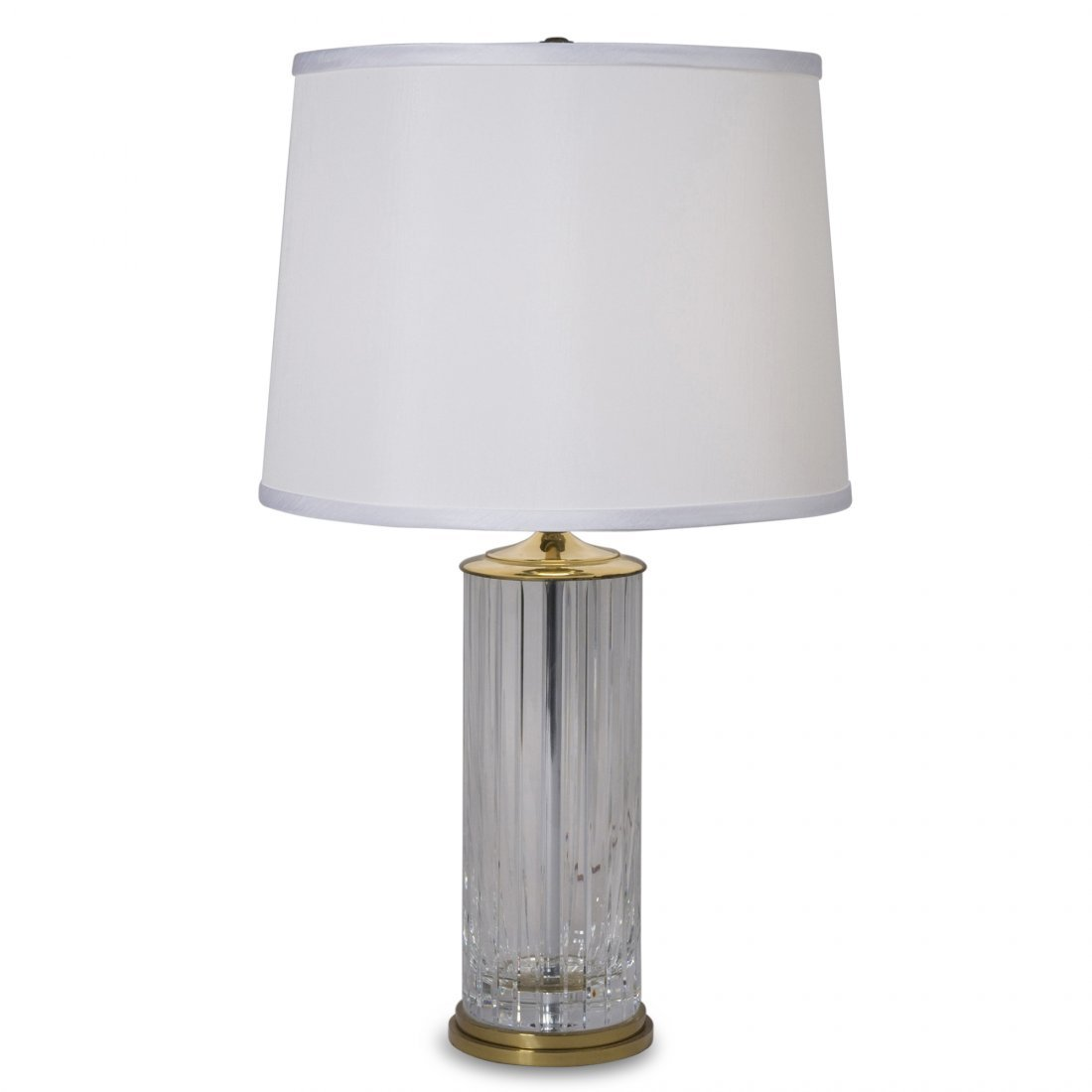 Crystal Table Lamp by Baccarat