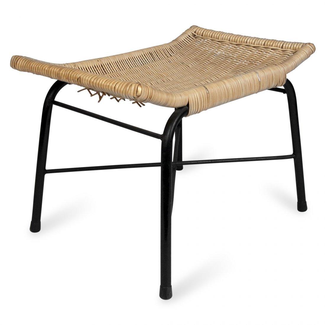 Arthur Umanoff Woven Seat Bench