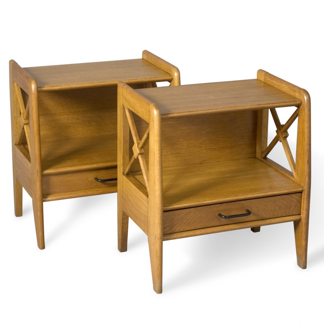 Adnet Style End Tables
