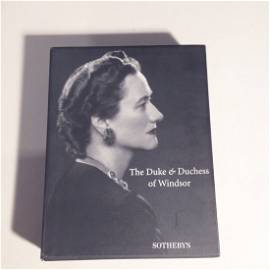 The Duke and Duchess of Windsor. Sothebys auction