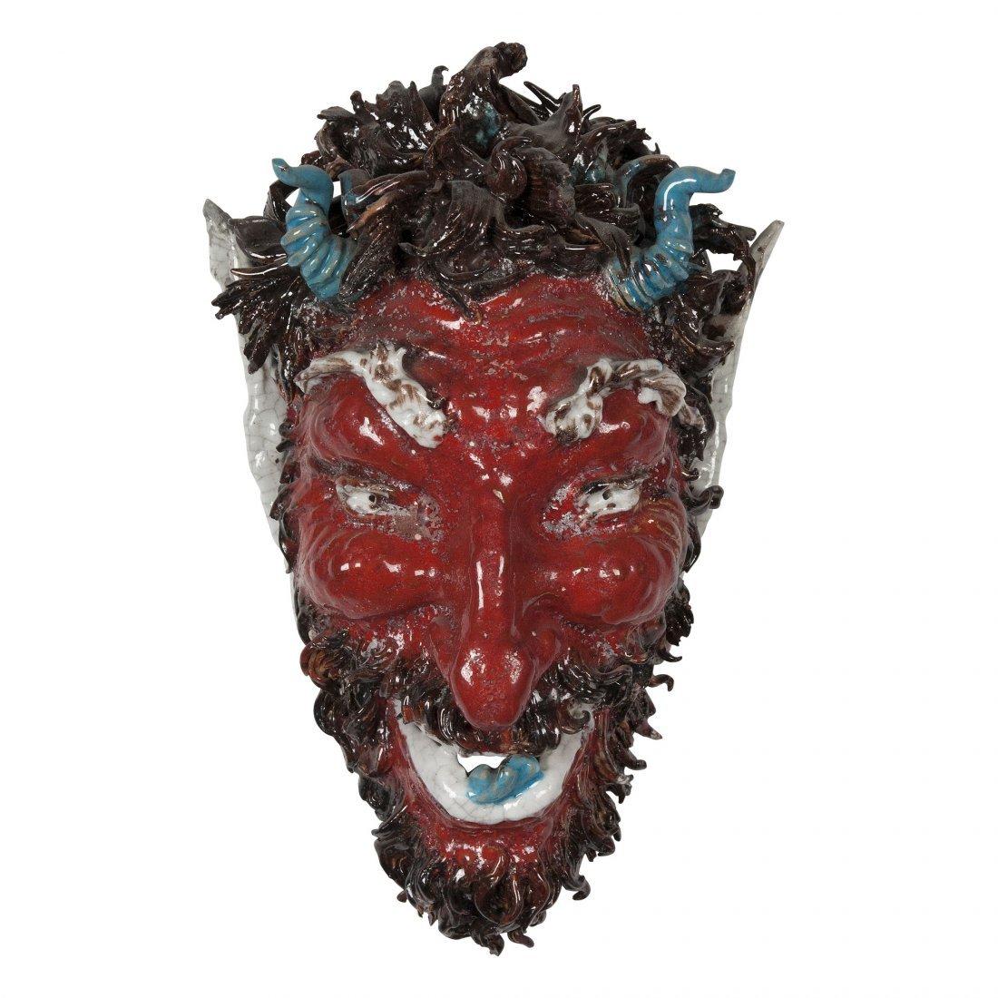 Devil Mask by Pattarino