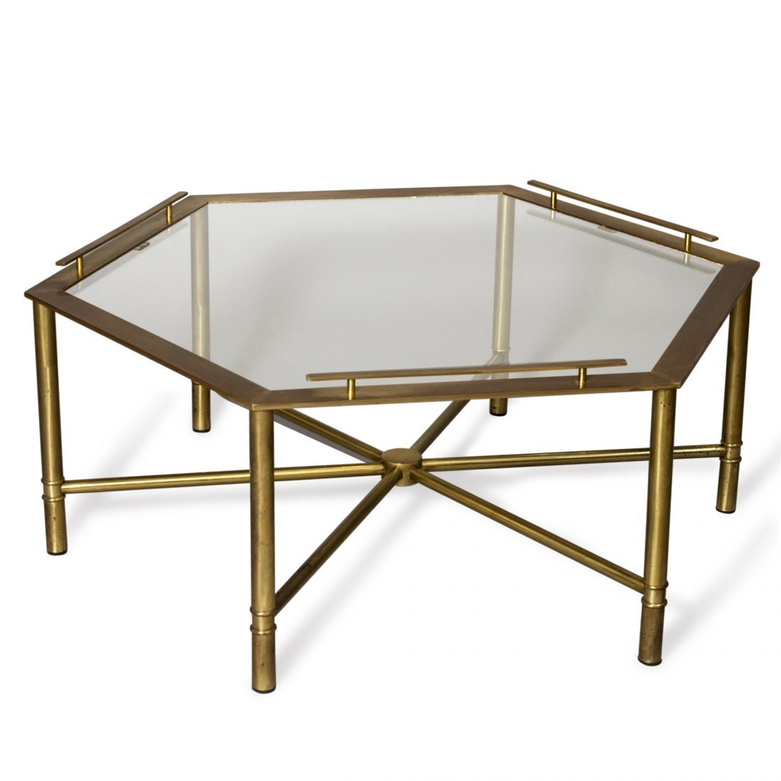 Bronze Hex Table by Mastercraft