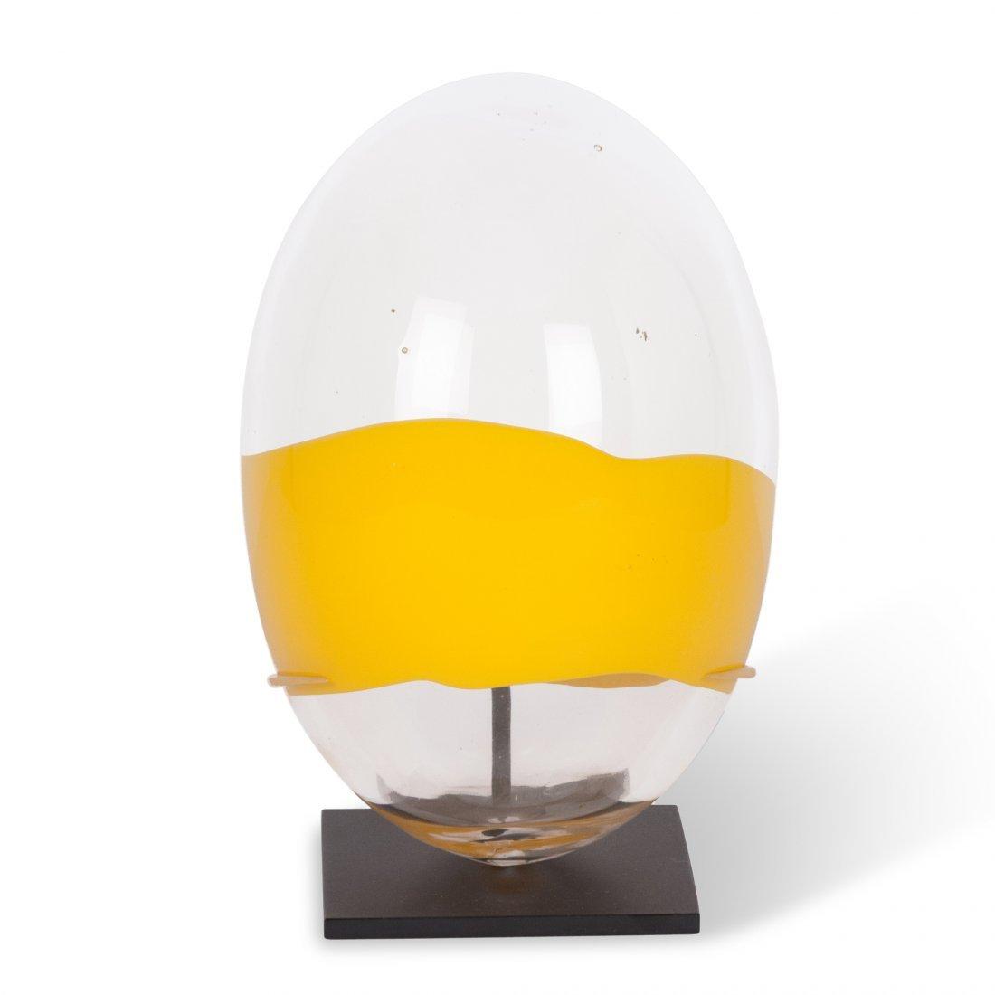 Santillana for Venini for Pierre Cardin Glass Egg