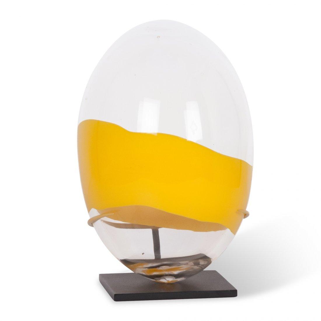 Santillana for Venini for Pierre Cardin Glass Egg - 6